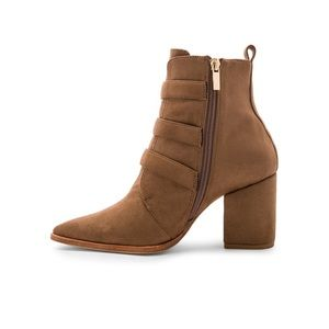 RAYE Shoes - Raye x House of Harlow 1960 Doute boot in taupe